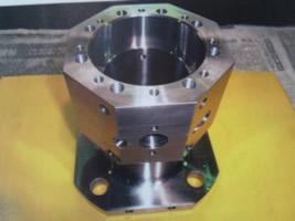 Finished angular parts using the horizontal machining center