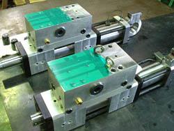 Servo cylinders