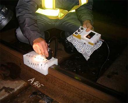 Measurement condition of railroad rails